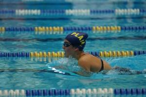 Entrainement de natation