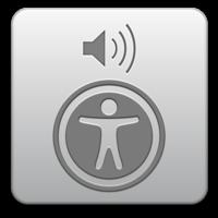 Logo VoiceOver de Apple