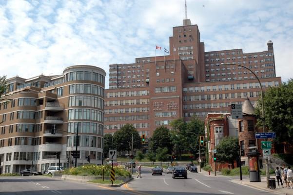 L'hôpital central de Québec
