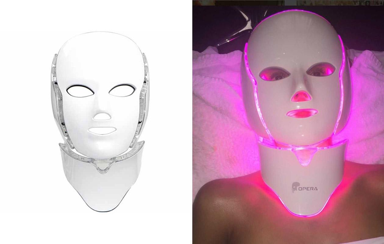 Le masque LED opera et son utilisation