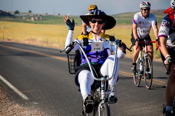 Cyclistes atteints de sclérose en plaque