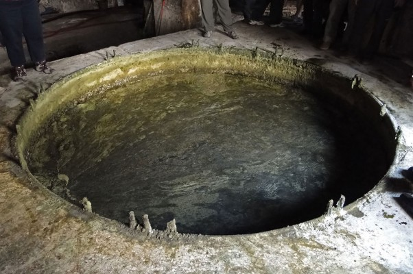 La saponification du savon d'Alep